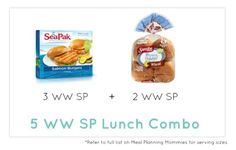 Weight Watcher Lunch Combo 7- Meal Planning Mommies