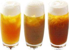 お茶とビールの組み合わせって斬新!