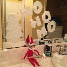 Elf on the Shelf: Week Three | Spirited Essence