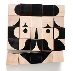 facemaker, new wood toy blocks from millergoodman