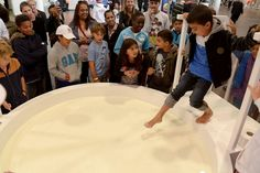 Sports fans invited to 'walk on yogurt' at Danone Nations Cup #Danio #experiential - Event Industry News