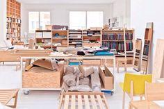 Visit   A designer workshop in Brussels - French By Design
