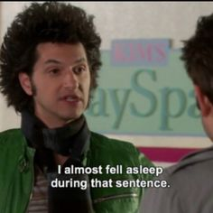 Reaction Pictures, Funny Pictures, Jean Ralphio, Parks And Recs, Tv Show Quotes, Film Quotes, Funny Quotes, Parks Department, Parks And Recreation