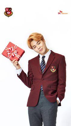 [Picture] BTS X SK Telecom Wallpaper [160302] Jimin. So adorable