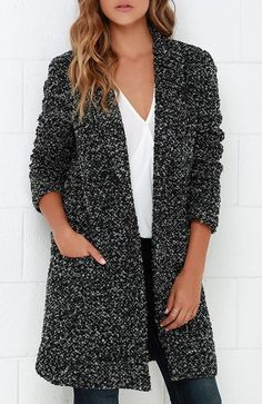 My beautiful lapel pocket coat from SheIn!