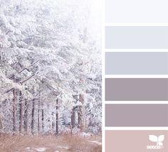 Explore Design Seeds color palettes by collection. Paint Color Schemes, Colour Pallette, Color Palate, Color Combinations, Design Seeds, Paint Colors For Home, House Colors, Decoration Palette, Winter Colors