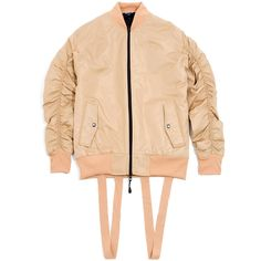 Underated Stealth Bomber in Beige. Easily the most amazing bomber jacket we've seen in a long time. | £160