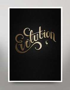 Evolution by Mats Ottdal, via Behance