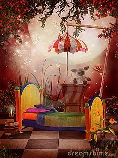 What child wouldn't love to dream in this room?