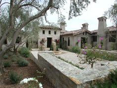 Tuscan style home, San Diego, California