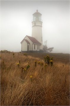 Lighthouse in the early morning..