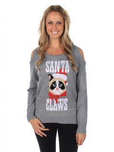982e1d4499b4 Santa Claws Cat Ugly Christmas Sweater Making Ugly Christmas Sweaters, Ugly  Christmas Sweater Women,