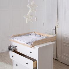 Wickeltischaufsatz für Ikea Kommoden. Gefunden bei puckdaddy.de