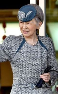 Empress Michiko, October 26, 2015 | Royal Hats