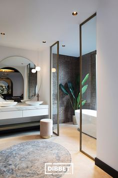 Dibbet Interiors - Luxury interior - High ■ Exclusive living and garden inspiration . Luxe Interiors, Interior, Luxury Homes Interior, House Interior, Marble Interior, Home Interior Design, Luxury Interior, Beautiful Houses Inside, Beautiful Bathrooms