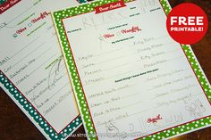 "Free ""Letter to Santa"" Printable on www.strawberrymommycakes.com"