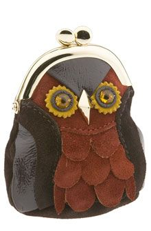 Think you need an owl change purse....everyone has to have a change purse