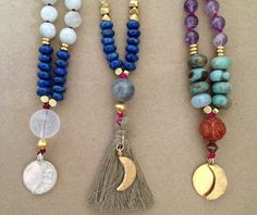 courage and calm layering mala.