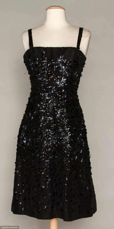 Dior Couture Cocktail Dress, 1955, Augusta Auctions, November 2, 2011 NYC, Lot 101