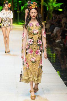 Dolce & Gabbana Spring   Summer 2017 -