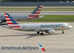 American Airlines Airbus A320 NEW LIVERY