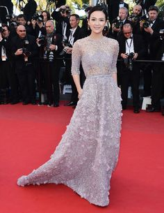 Zhang Ziyi in Elie Saab Haute Couture Spring/Summer 2013