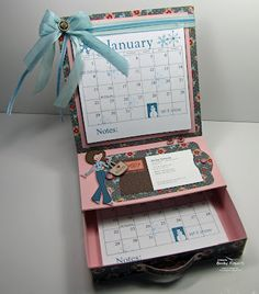 Calendar with Drawer Inspiration