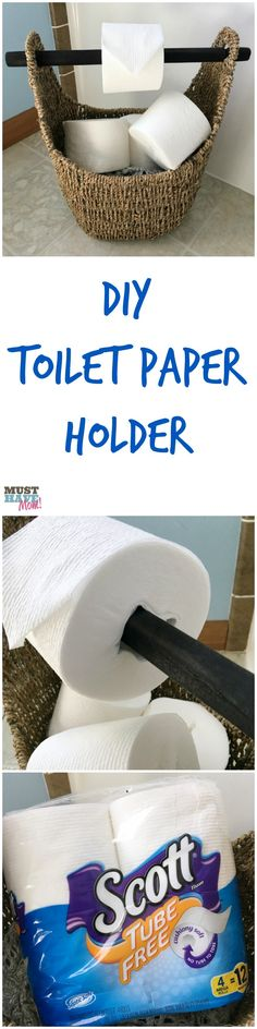 DIY toilet paper hol