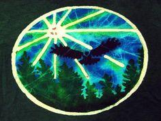 Nocturnal batik t shirt, nice! Four Direction Batik