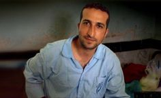 Pastor Youcef Nadarkhani pictured in Iranian Jail. He was released in Sept. rearrested on Christmas day.  His lawyer that worked for his release in Sept. is now also in prison.