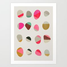 Buy Painted Pebbles 1 by Garima Dhawan as a high quality Art Print. Worldwide shipping available at Society6.com. Just one of millions of products…