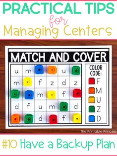 Literacy and math ce