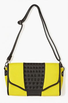 nastygal-studdedcolorblockbag Next Handbags, Purses And Handbags, Small  Handbags, Studded Bag, 7568f13d94