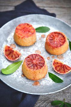 Gâteau à l'orange sanguine - Amuses bouche