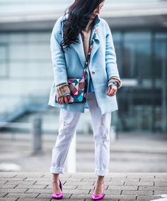 "Gefällt 373 Mal, 25 Kommentare - Julie (@juliesdresscode) auf Instagram: ""That look is up on the blog and I'm still excited about that beautiful bag @aignermunich"""
