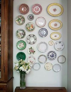 Plates decoration.