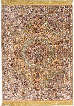 Tabriz rug, Northwest Persian  100% silk