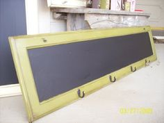 chalkboard from cabinet doors