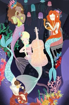 Mermaid concept art