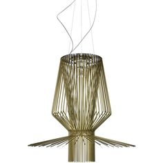 Foscarini Allegro Assai Suspension Light ($10,676) ❤ liked on Polyvore featuring home, lighting, ceiling lights, yellow, foscarini lamp, foscarini, foscarini lighting, yellow lights and yellow light