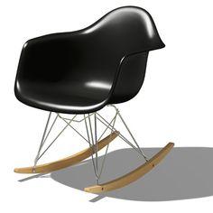Herman Miller Eames Molded Plastic Rocking Chair | SmartFurniture.com