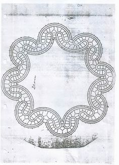 Google+ Cutwork Embroidery, Embroidery Stitches, Bruges Lace, Romanian Lace, Bobbin Lace Patterns, Point Lace, Needle Lace, Lace Making, Simple Art