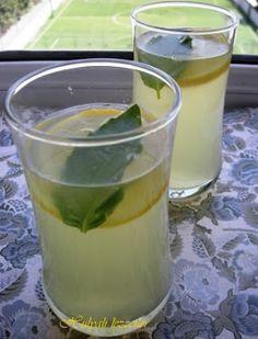 hülyalı lezzetler: Zencefil & Fesleğenli Limon Şerbeti