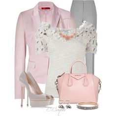 Pastel Pink Bag, created by ccroquer on Polyvore