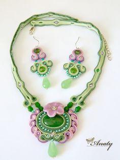 Soutache Jewelry Soutache Set Soutache Earrings by anatydesign