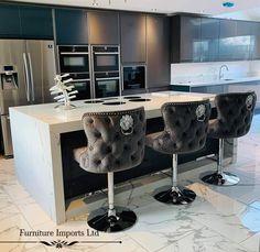House Extension Design, House Design, Girl Apartment Decor, Home Office Furniture Design, Open Plan Kitchen Living Room, Dream House Interior, Stylish Home Decor, Modern Kitchen Design, House Rooms