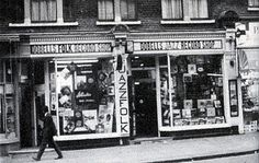 276-Charing Cross Road, Dobells Jazz and Folk record shop by Warsaw1948, via Flickr