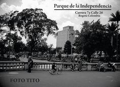Así era la Cra. 7ma con Calle 26 más o menos a mediados de los años 40 ¿Linda no? Street View, Twitter, Bogota Colombia, Racing, Street, Parks, Cities, Hipster Stuff