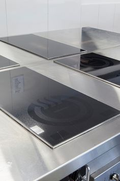 CookTek Double Hob Induction units installed in a Hospitality classroom. Click the link to see more of the CookTek product range.