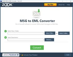 ZOOK MSG to EML Converter 3.0